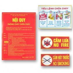 tiêu lênh phòng cháy chữa cháy
